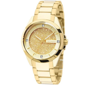 7f3ad8e7e1f 4x Crystal Frete Grátis Technos Feminino 6p29agd - Relógios De Pulso ...