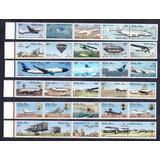 Lote Estampillas De Aviones