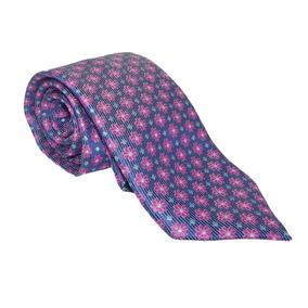 Corbata Italiana Violeta Patrones De Flores