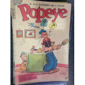Popeye N°45 1956