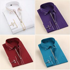 Camisa Social Blusa Slim Fit Luxo Importada + Frete Grátis