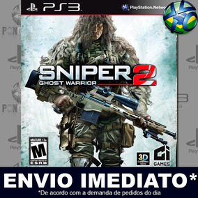 Jogo Sniper Ghost Warrior 2 Ps3 Play 3 Mídia Digital Psn