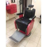 Cadeira De Barbeiro Ferrante Restaurada Pronta Pra Uso