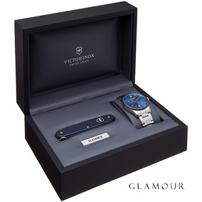 Relógio Victorinox Alliance Com Canivete Pioneer Alox
