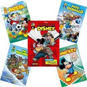 Combo 5 Novas Edições Disney 2019 Nº 1 Hq Gibi Lançamento