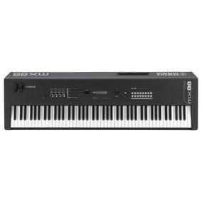 Sintetizador Yamaha Mx88 - 88 Teclas, Com Fonte Bivolt - Pre