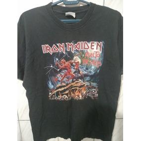 f58bb73567 Camiseta Iron Maiden Usada - Camisetas Manga Curta Masculino