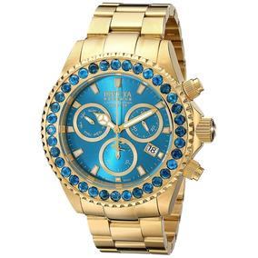 Relógio Masculino Invicta Pro Diver 14449 18kt 100% Original