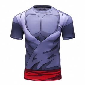 Playera Superhéroes Gym Goku Black