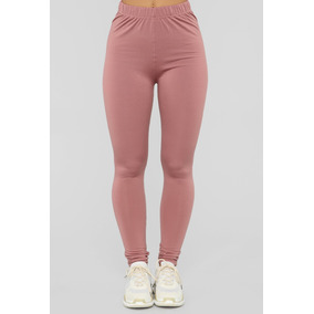 Leggings Rosa Deportivos Crossfit Gym Sport Mujer Curvas