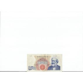 Cédula 1000 Liras Itália Mbc/sob 1962