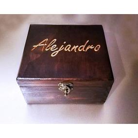 Caja Madera Personalizada. Boda, Xv, Piñatas, 14 Feb