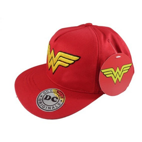 Gorra Plana Original Dc Wonder Woman cb6a2981703