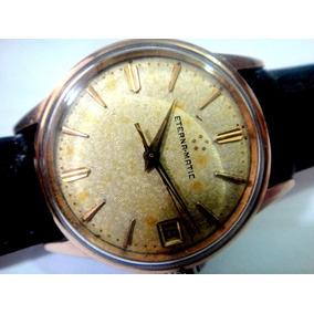 328c2d0fa4a Relogio Eterna Matic Folheado Ouro - Relógios no Mercado Livre Brasil