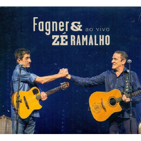 Fagner & Zé Ramalho Ao Vivo - Cd Mpb