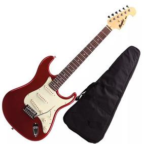 Guitarra Mod Fender Tagima Memphis Mg32 Vermelho Metalico