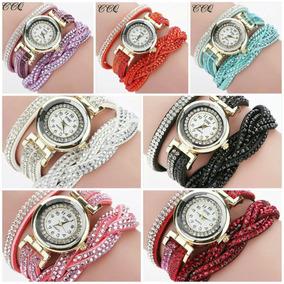5bd80e4731 Pedrinha De Strass Quadrada - Relógios no Mercado Livre Brasil