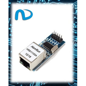 Módulo Ethernet Enc28j60 - Lan Network Shield