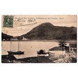 Cartao Postal São Francisco Do Sul - Sc - 1908