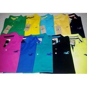 Kit 10 Camisas Polo Masculina Varias Marcas ,unidade 25,00