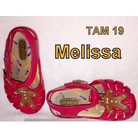 Mini Melissa 17 / 18 Aranha Biscoito Original