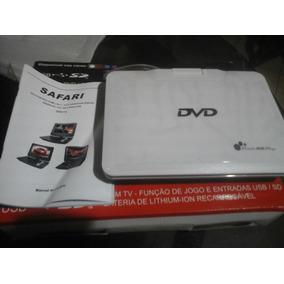 Dvd Portatil Safari Cd/mp3 Sd/usb