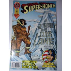 Hq-super-homem:o Retorno De Lois Lane:dc:mulher-maravilha