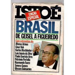 Revista Isto É Edição Especial Brasil De Geisel A Figueredo
