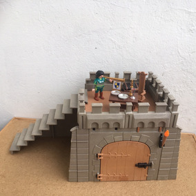 Playmobil Medieval Cenário De Castelo Frete Veja Texto