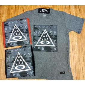 Kit Oakley Original - Camisetas e Blusas no Mercado Livre Brasil bd76f1da228
