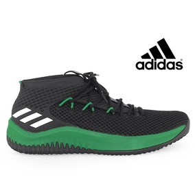 Tênis adidas Basquete Preto/verde Tamanho 48