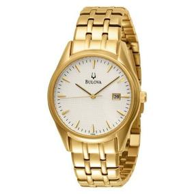 d84559c78b6 Relógio Bulova 97b109 Classico Masculino Dourado - Relógios De Pulso ...