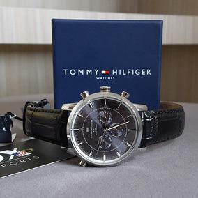 Relógio Tommy Hilfiger Pulseira De Couro - Original
