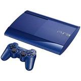 Ps3 Super Slim 250 Gb Blue Edition