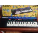 Teclado Musical Casio Sa-8 Tone Bank