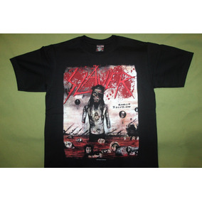 Gusanobass Playera Rock Metal Slayer Christ Thrash Small