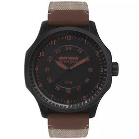 79a5e8544ac Relogio Mormaii Masculino Quadrado Couro - Relógios no Mercado Livre ...