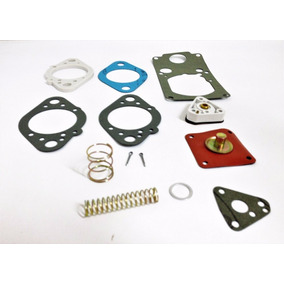Jogo Junta Carburador Opala/ Jeep Solex 40 Eis C/ Diafragmas
