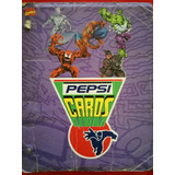 Pepsi Cards Marvel Basicos
