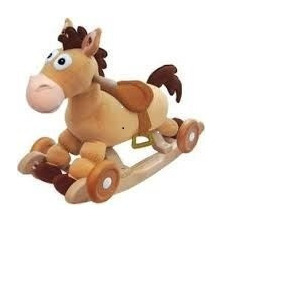 Caballo Tiro Al Blanco Toy Story 2 En 1 Mesedora Y Rodillo 087e3114766