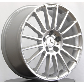 Roda Mercedes Benz A 45 Amg / Aro 18x8 Prata Diamanta 5x112