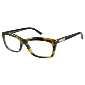 0e019e4149dee Lente Giorgio Armani Eyeglasses Ar 7003 5003 Matte Brown Tr - Óculos ...