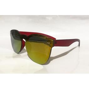 Óculos De Sol Fletcher Flat Redondo Espelhado f54a572ba2
