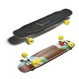 Longboard Tesseract + Fat Free + Paris V3 + Jehu V2 + Sktbag