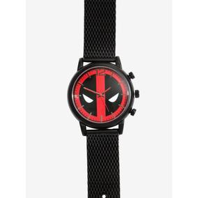 Reloj Marvel Deadpool Original Hot Topic Caballero Xmen