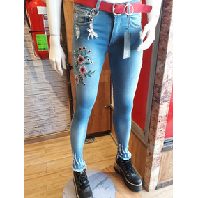 Jeans Marca Cenitho Hasta El Talle 54 Hermoso Bordado