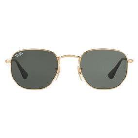3aa2a5f187e Oculos Ray-ban Rb3548n Hexagonal 54mm Masculino Feminino
