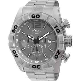 04e6c369737 Condor Civic Dual Time - Relógios De Pulso no Mercado Livre Brasil