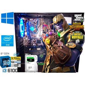 Cpu Gamer I3 6100, 3.30ghz, 6 Geração