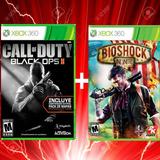 Black Ops 2 Con Dlc,bioshock Xbox No Codigo Leer Descripcion